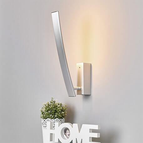 Mit Schalter - hochwertige LED-Wandleuchte Xalu