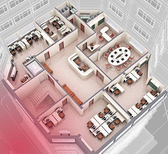 Conseil en conception d'éclairage 3D