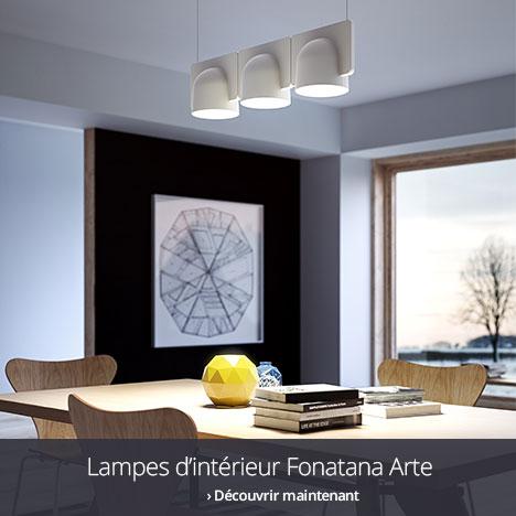 Lampes d'intérieur Fonatana Arte