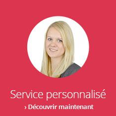 Service personnalisé