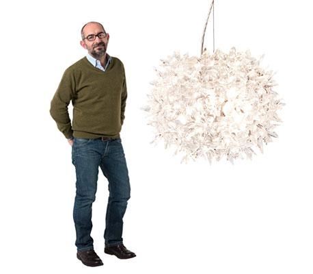 Ferruccio Laviani et la suspension Bloom