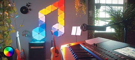 Nanoleaf Rhythm Edition Light Panels, 15 panneaux