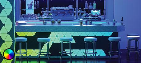 Nanoleaf Rhythm Edition Light Panels, 9 panneaux