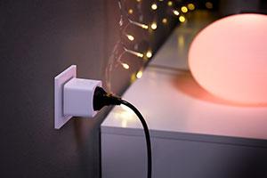 lampe couleur prise