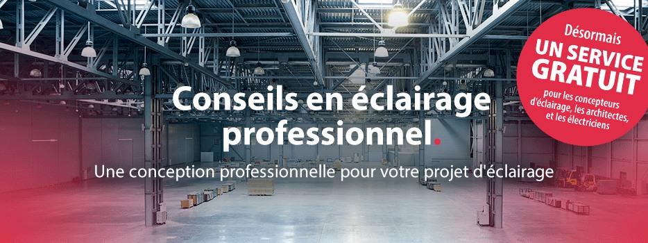 Conseils en éclairage professionnel Une conception professionnelle pour votre projet