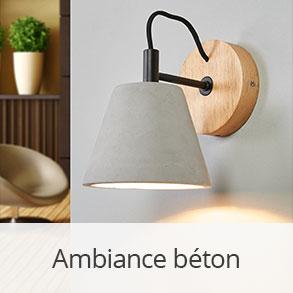 Lampes béton >