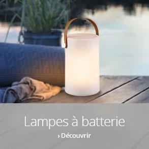 Lampes à batterie d'extérieur >