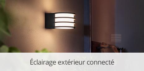 Éclairage extérieur connecté >>
