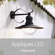Appliques d'extérieur LED