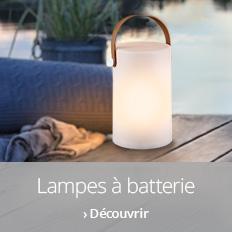 Lampes d'extérieur à batterie >