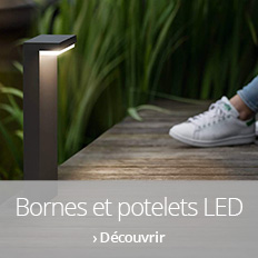Potelets LED