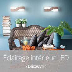 Éclairage LED pour l'intérieur