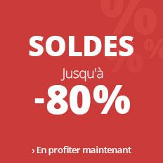 Soldes 2019 > jusqu'à -80 %