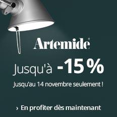 Artemide jusqu'à - 15%