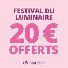 Festival du luminaire 20 € offerts