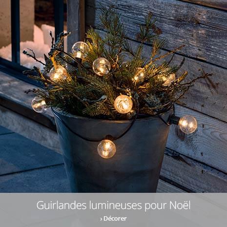Guirlandes lumineuses pour Noël