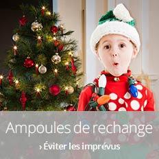 Ampoules de rechange pour guirlandes de Noël