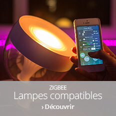 Lampes compatibles Zigbee