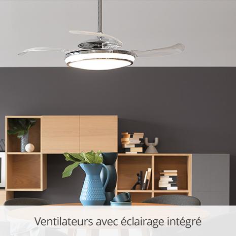 Ventilateurs avec éclairage intégré