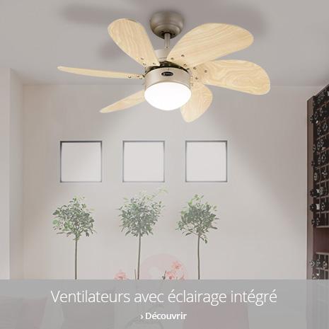 Ventilateurs avec éclairage
