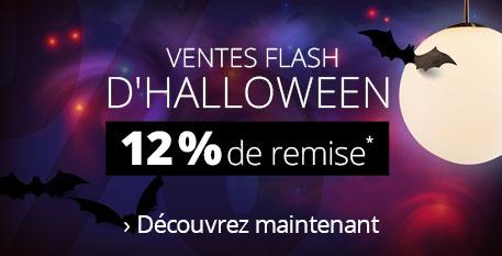 Préparez Halloween - 12 % sur tout !*