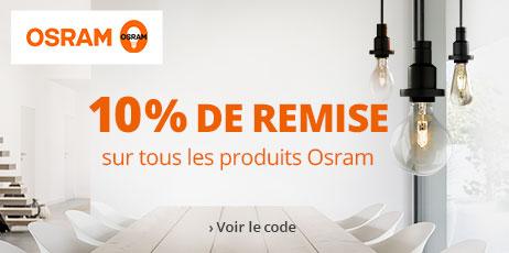 Osram : 10 % de remise sur tous les produits de la marque