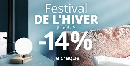 Festival de l'hiver | Jusqu'à -14%* >