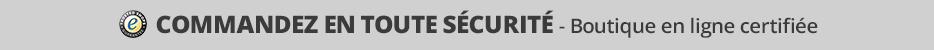 Boutique en ligne certifiée
