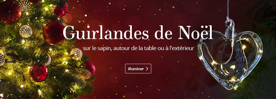 Guirlandes de Noël >