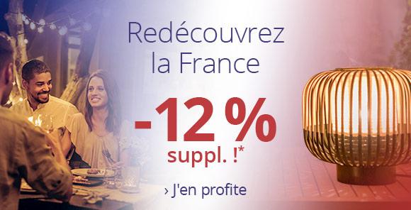 -12 % suppl. >