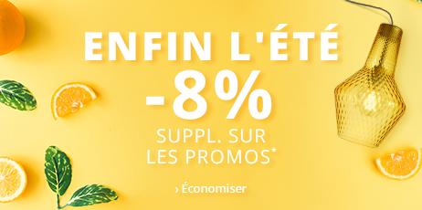 SUMMER SALE |  -8 % suppl. sur les Promos*