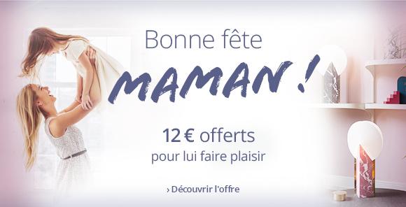 Fête des Mères | 12 € offerts