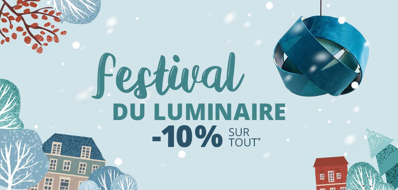 Festival du luminaire : 10 % de remise