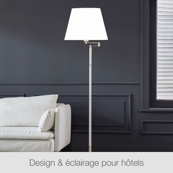 Design & éclairage pour hôtels