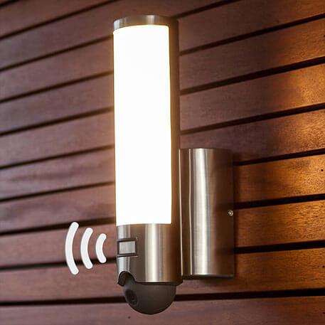 Applique d'extérieur LED Elara Cam avec caméra (3006507)