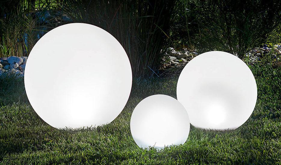 Set de 3 balles solaire LED, changement de couleur (3012559)
