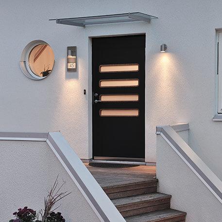 Joli numéro de maison lumineux Moderna 7655, gris (5522331)