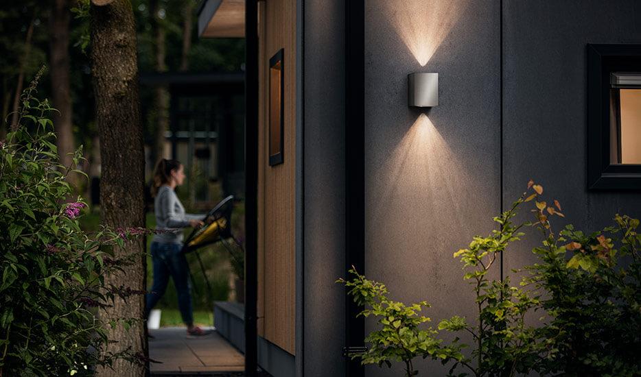 Applique d'extérieur LED en inox Cistus (7531925)
