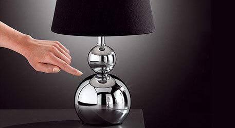 Lampe à poser SOFIA variateur d'intensité, blanc (4508156)