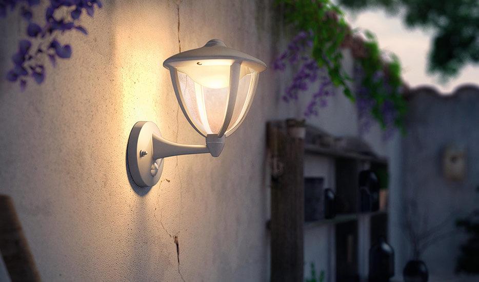 Robin - Applique d'extérieur LED à détecteur