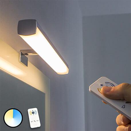 Applique pour miroir LED Atlas à lumière réglable (3052036)