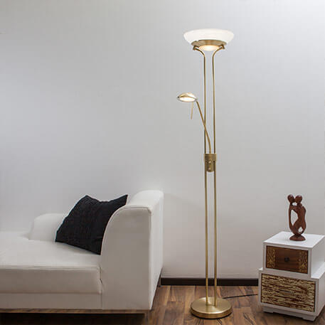 lampadaire eclairage indirect