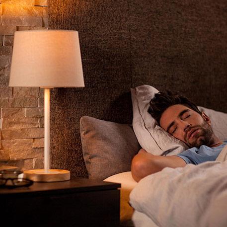 Est-ce-que Philips Hue peut servir de réveil ?