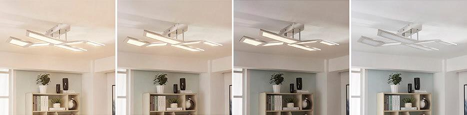 Luciano - Plafonnier LED dimmable par interrupteur