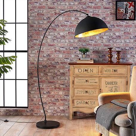 Le lampadaire arqué