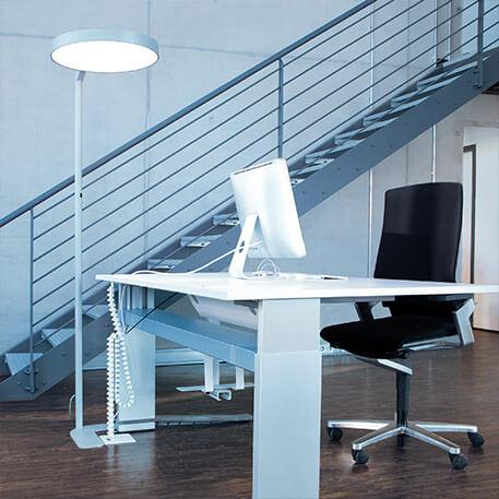 eclairage pour bureaux