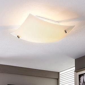 Plafonnier bombé Vinzent, E27 LED