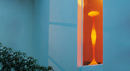 Incroyable Lampadaire Sat orange
