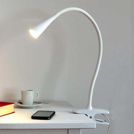 lampe à pince