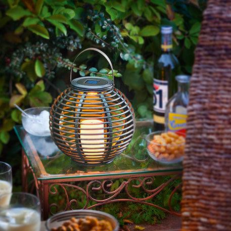 lampe solaire decorative
